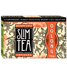 One Month Supply of Easy Convenient SlimTea Capsules