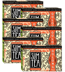 Six Month Supply of Easy Convenient SlimTea Capsules